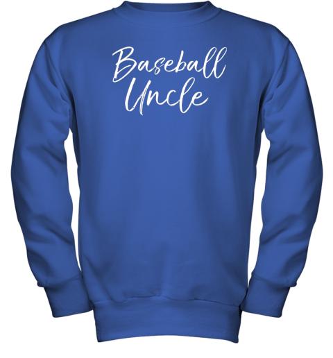 kyqt baseball uncle shirt for men cool baseball uncle youth sweatshirt 47 front royal