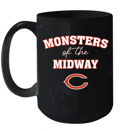 Monsters of The Midway Ceramic Mug 15oz