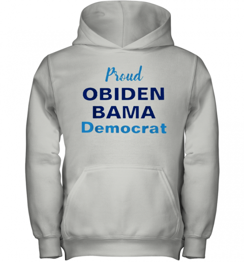 Proud Obiden Bama Democrat Youth Hoodie