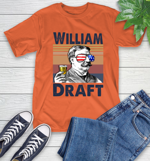William Draft Drink Independence Day The 4th Of July Shirt T-Shirt 4