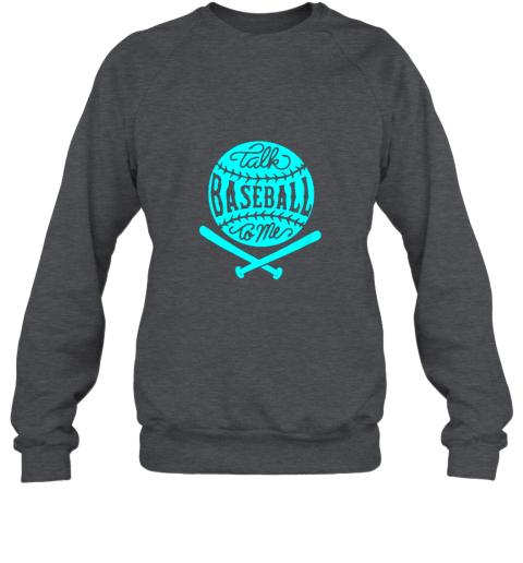 1lxx talk baseball to me groovy ball bat silhouette sweatshirt 35 front dark heather