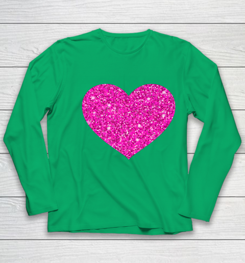 Pink Valentine Heart Love Fun Husband Wife Youth Long Sleeve 4