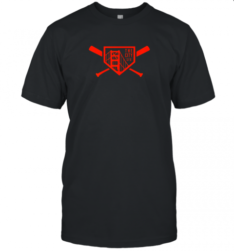 Cool San Francisco Baseball The City Bridge SFO Unisex Jersey Tee