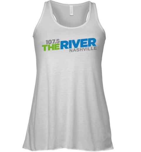 107 5 The River Nashville Racerback Tank