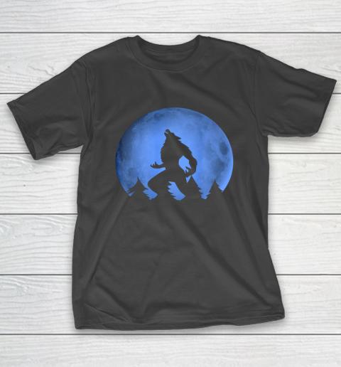 Werewolf Blue Moon wolf full moon on Halloween costume 2020 T-Shirt