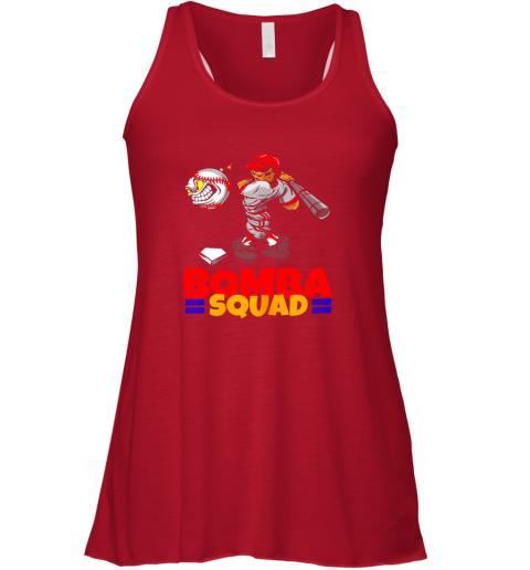 bpq2 bomba squad twins shirt for men women baseball minnesota flowy tank 32 front red
