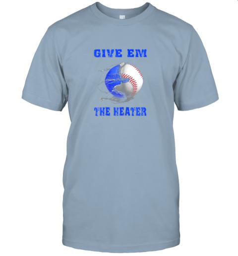 hgqt give em the heater baseball pitcher jersey t shirt 60 front light blue