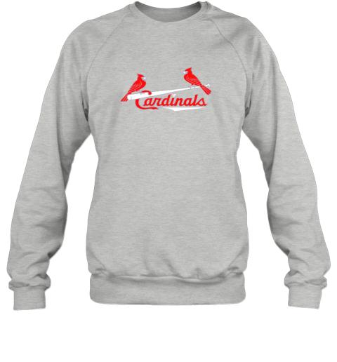 mavq cardinal sports shirtst louis baseball fan sweatshirt 35 front sport grey