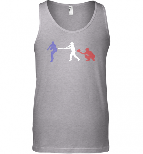 karx baseball usa flag american tradition spirit unisex tank 17 front sport grey