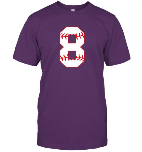 sl1c cute eighth birthday party 8th baseball shirt born 2011 jersey t shirt 60 front team purple