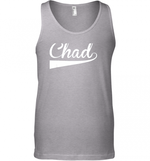 szqq chad country name baseball softball styled unisex tank 17 front sport grey