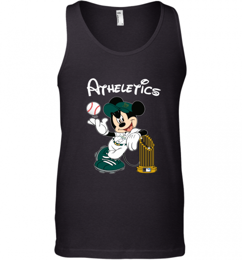 Oakland Athletics Mickey Taking The Trophy MLB 2019 Tank Top