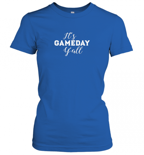 s9xf it39 s game day y39 all football baseball basketball ladies t shirt 20 front royal