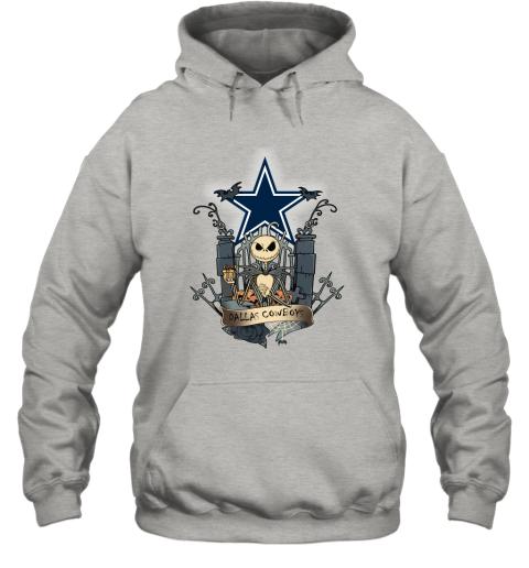 Dallas Cowboys Jack Skellington This Is Halloween NFL Hoodie