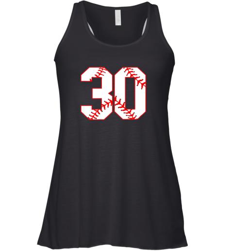 Thirtieth Birthday Party 30th Baseball Shirt Born 1989 Racerback Tank