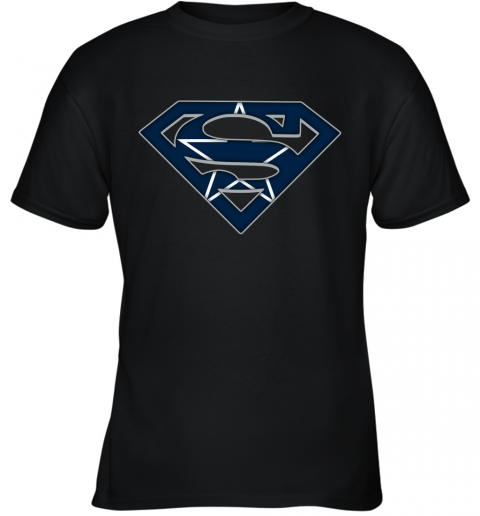 We Are Undefeatable The Dallas Cowboys x Superman NFL Youth T-Shirt
