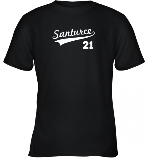 Vintage Santurce 21 Puerto Rico Baseball Youth T-Shirt