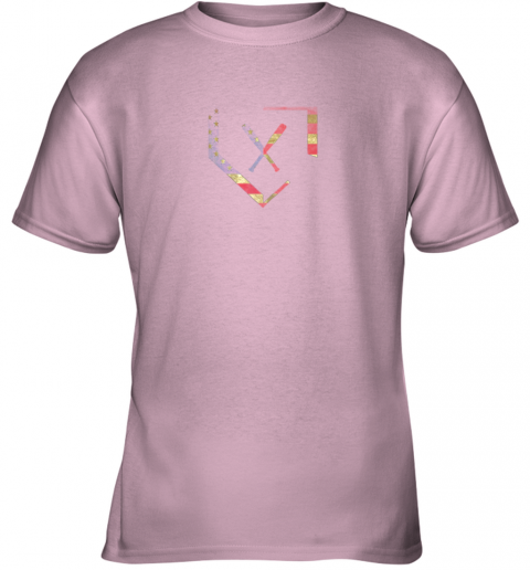 xjrk home plate baseball bats american flag shirt baseballin youth t shirt 26 front light pink