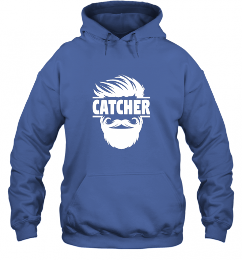 gqyp bearded baseball catcher hoodie 23 front royal