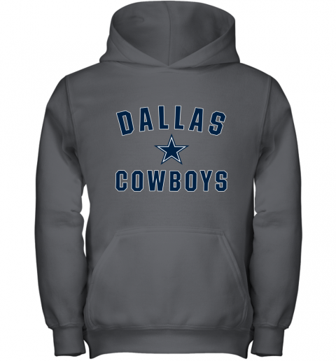 Dallas Cowboys NFL Pro Line by Fanatics Branded Gray Youth Hoodie