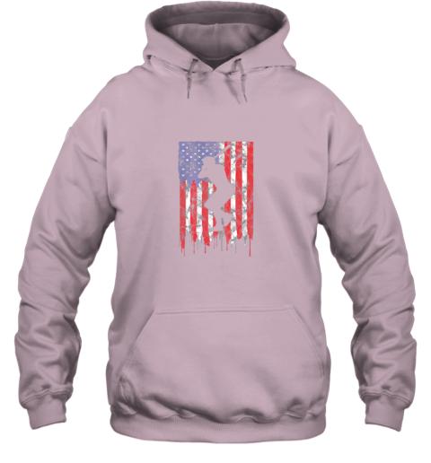 rpro vintage patriotic american flag baseball shirt usa hoodie 23 front light pink