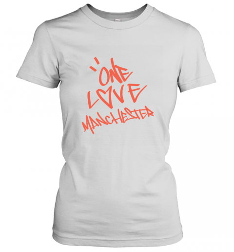 ARIANA GRANDE  ONE LOVE MANCHESTER Women's T-Shirt