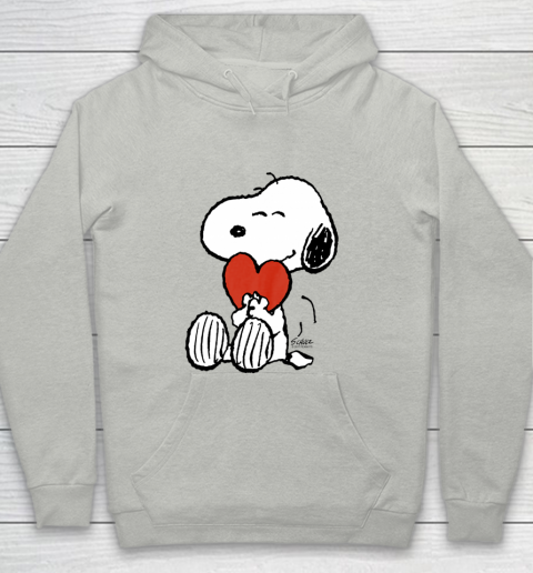 Peanuts Snoopy Heart Valentine Youth Hoodie