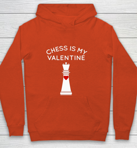 Chess Is My Valentine Youth Hoodie 3