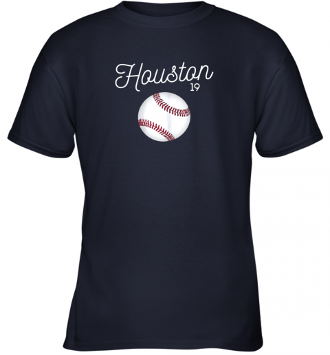my0t houston baseball shirt astro number 19 and giant ball youth t shirt 26 front navy