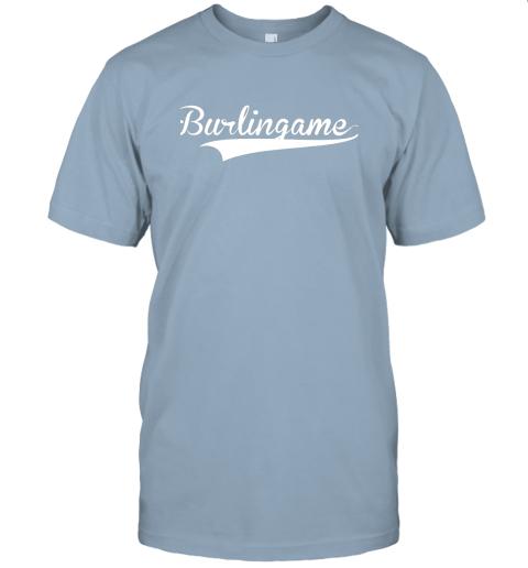 4j6a burlingame baseball softball styled jersey t shirt 60 front light blue