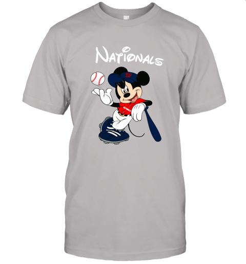 n9zi baseball mickey team washington nationals jersey t shirt 60 front ash