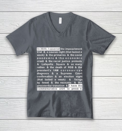 Jim Acosta V-Neck T-Shirt 4