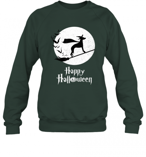 Funny Halloween Costume Witch WHIPPET Dog Lover Gift Sweatshirt