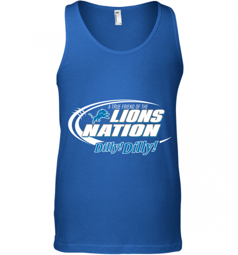 34r3 a true friend of the lions nation unisex tank 17 front royal