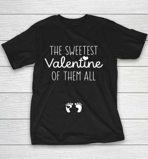 Womens Sweet Gift for Pregnant Wife Girlfriend Valentine Pregnant Youth T-Shirt