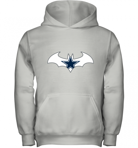 We Are The Dallas Cowboys Batman NFL Mashup Youth Hoodie