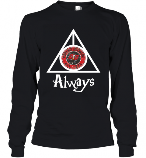 Always Love The Tampa Bay Buccaneers x Harry Potter Mashup nfl Youth Long Sleeve