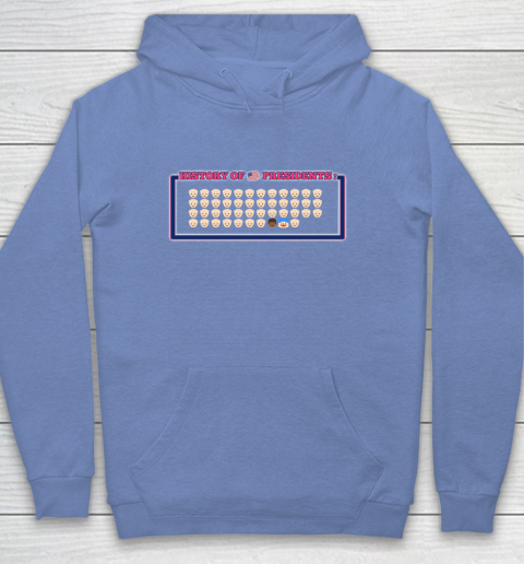 History of US Presidents Anti Trump Funny Youth Hoodie 8