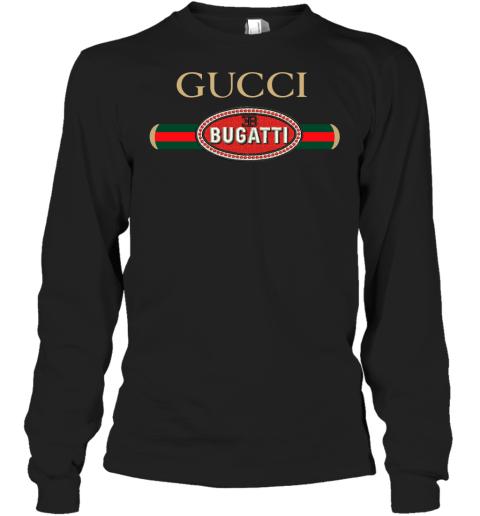 Gucci Bugatti Logo Adult Long Sleeve T-Shirt