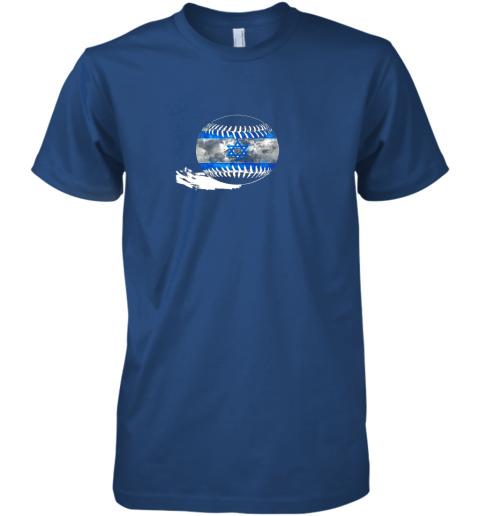 sokx vintage baseball israel flag shirt israelis pride premium guys tee 5 front royal