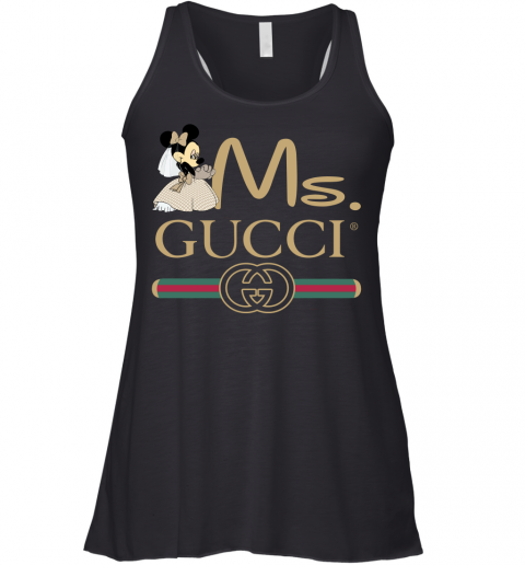 Gucci Couple Disney Ms Minnie Valentine's Day Gift Womens Racerback Tank Top