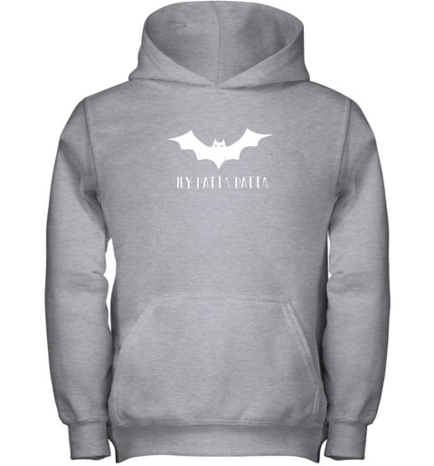 ysrp halloween bat shirt funny baseball lover hey batta gift youth hoodie 43 front sport grey