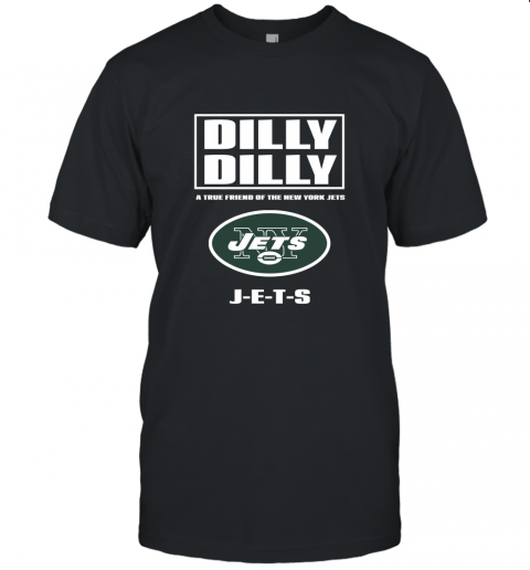 A True Friend Of The New York Jets Unisex Jersey Tee