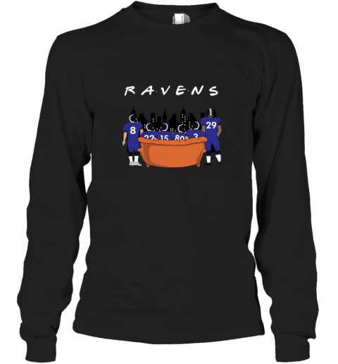 The Baltimore Ravens Together F.R.I.E.N.D.S NFL Long Sleeve T-Shirt