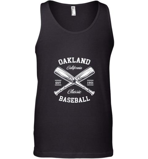 Oakland Baseball, Classic Vintage California Retro Fans Gift Tank Top