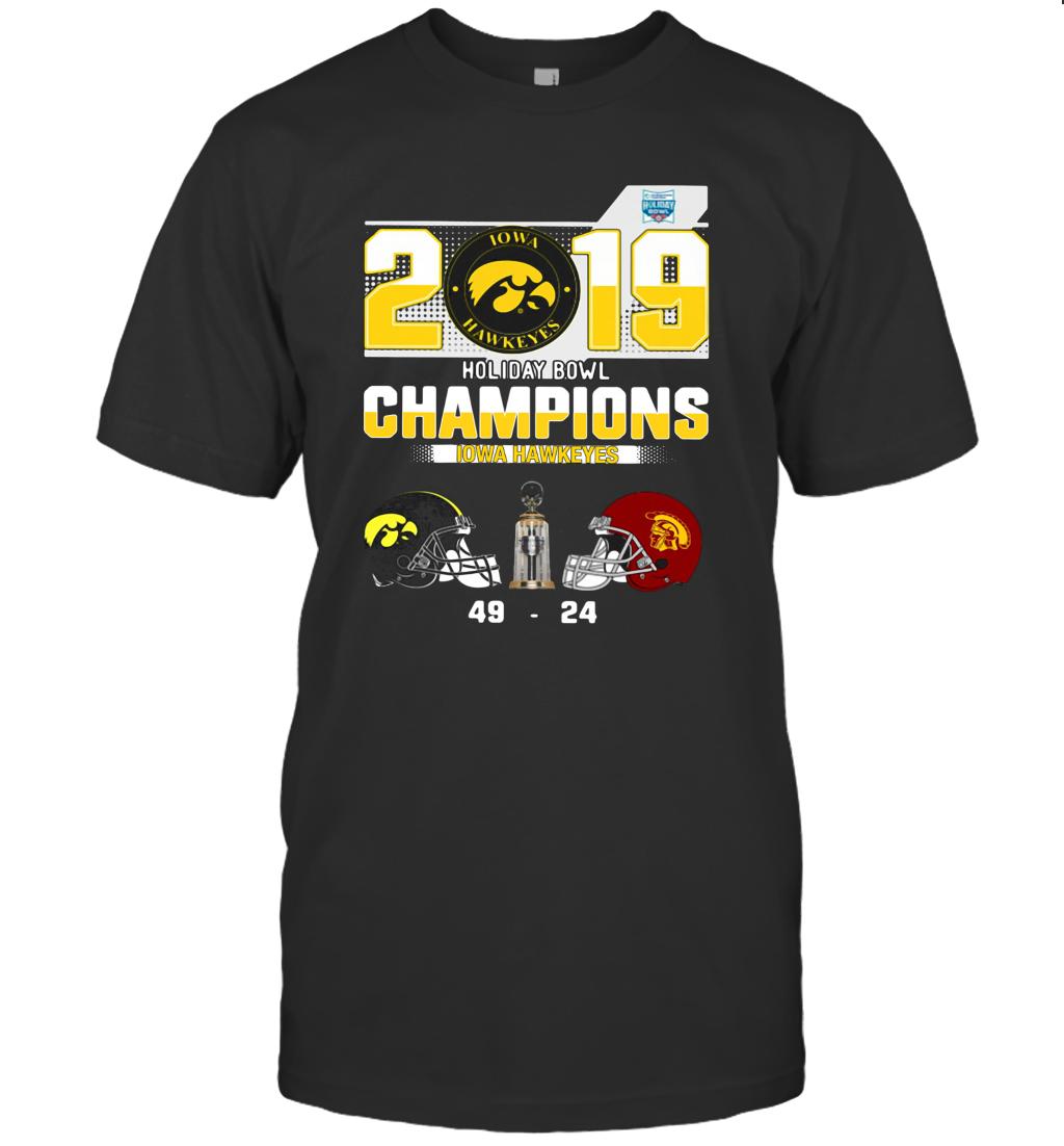 2019 Holiday Bowl Champions Iowa Hawkeyes T-Shirt