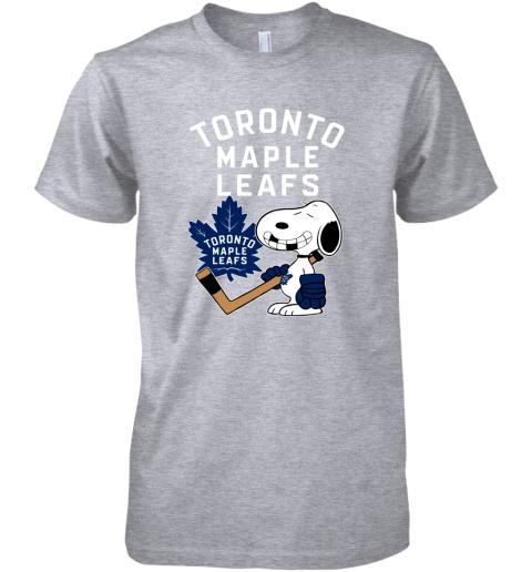 Toronto Maple Leafs Ice Hockey Broken Teeth Snoopy NHL Premium Men's T-Shirt