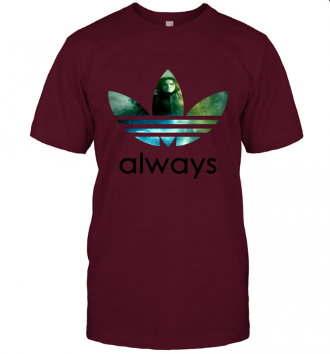 gifc adidas severus snape always harry potter shirts jersey t shirt 60 front maroon