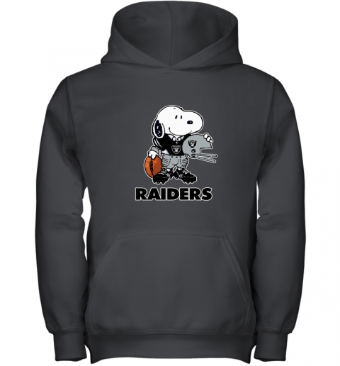 Snoopy A Strong And Proud Oakland Raiders NFL Youth Hoodie