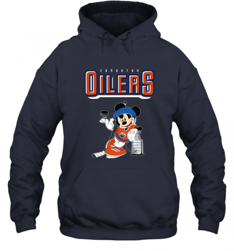 2bm9 mickey edmonton oilers with the stanley cup hockey nhl shirt hoodie 23 front navy